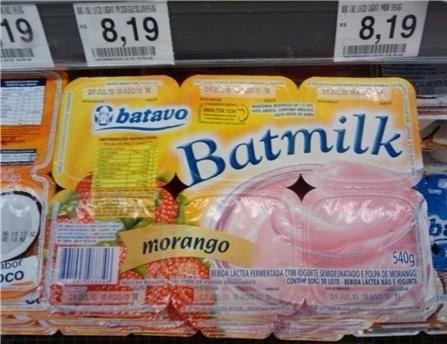 Snack - 19 8,19 8,19 batavo Batmilk morango 540g BBOA LACTEA FERMENTADA COOGT SMDETADO E POUA DE MORANGO co CONT SR AC a