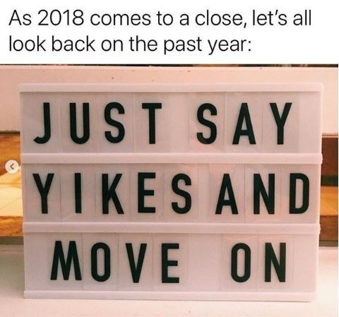 tip on how to deal with memories from 2018