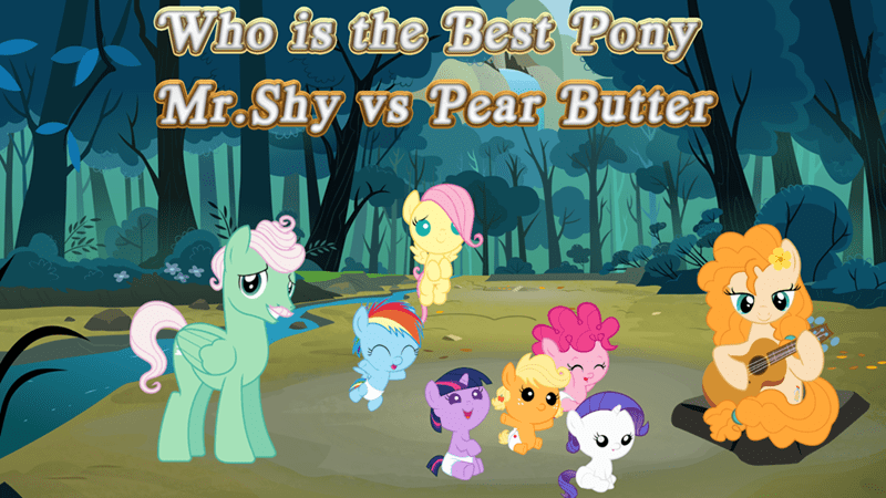 applejack mr shy twilight sparkle pinkie pie rarity pear butter best pony fluttershy rainbow dash - 9253329920