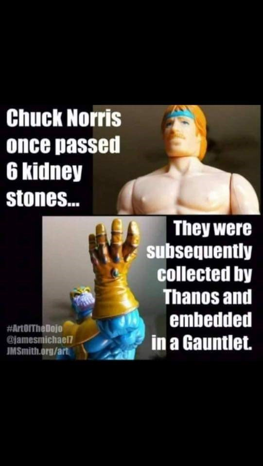 meme about how the stones that Thanos wanted were first created