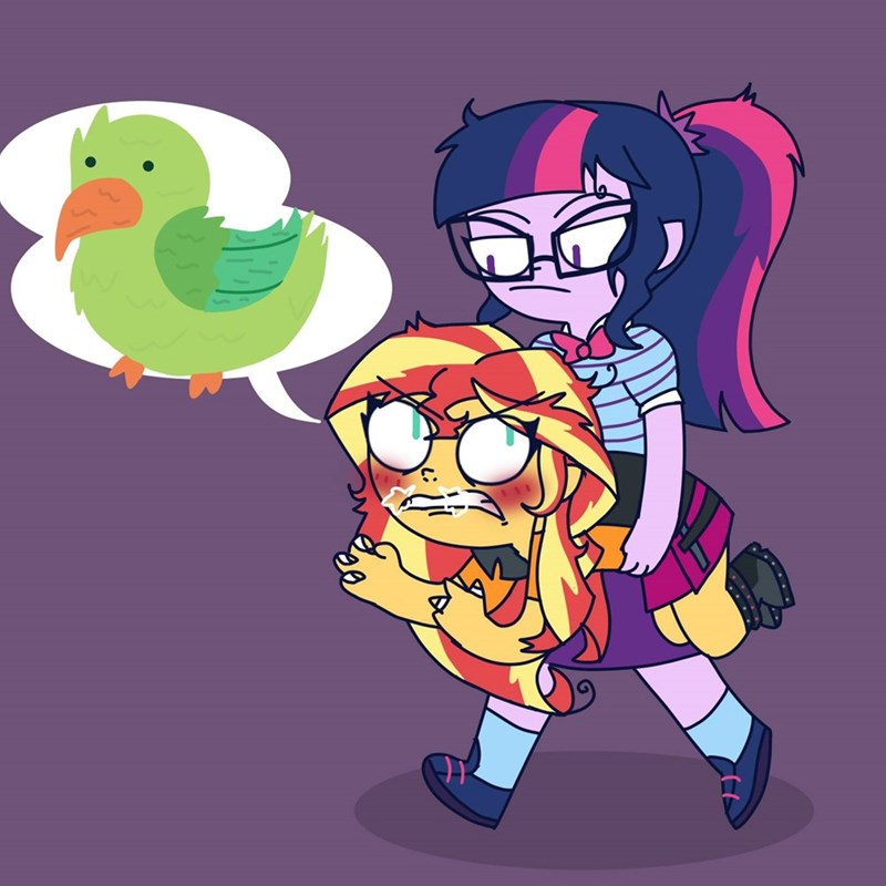 equestria girls twilight sparkle rollercoaster of friendship sunset shimmer - 9253347840