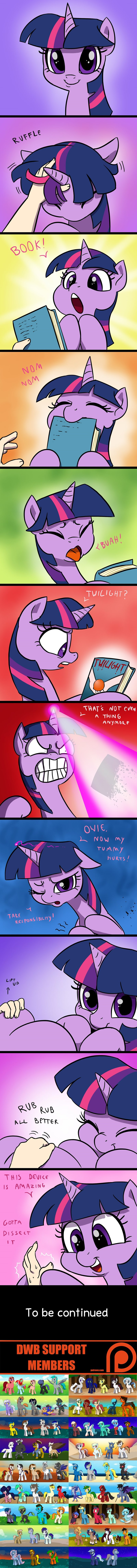 dragon spike equestria girls scitwi twilight sparkle Memes books twilight comic princess celestia double w brothers - 9253348864
