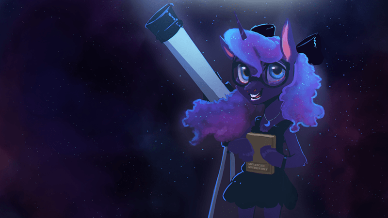 hierozaki princess luna anthropomorphic - 9253723392