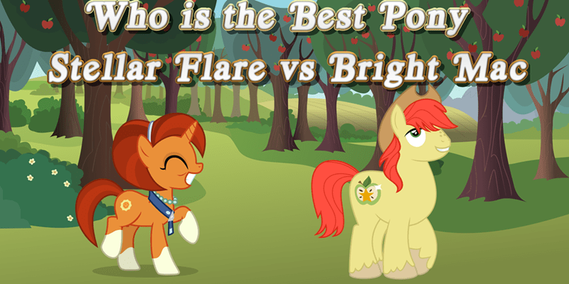 bright mac best pony stellar flare - 9253896704
