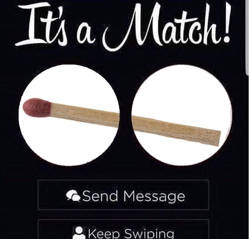 Font - It a Match! Send Message Keep Swiping
