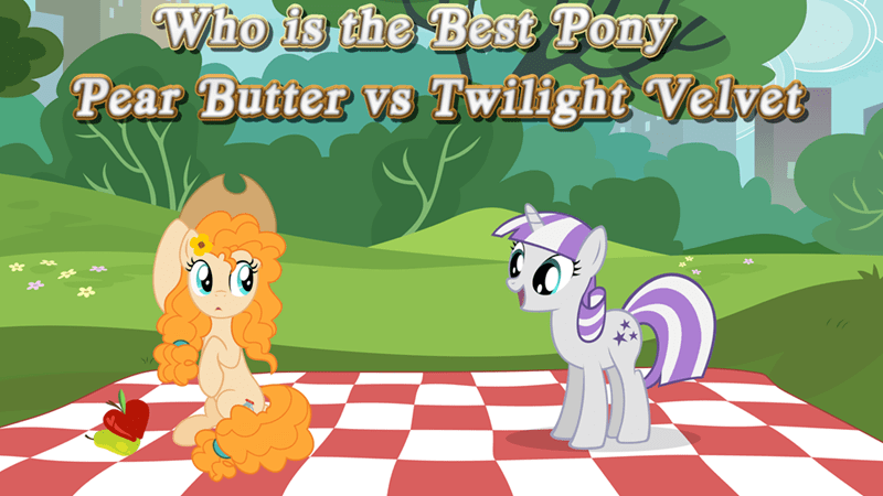 twilight velvet pear butter best pony - 9254074624