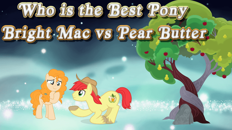 bright mac pear butter best pony - 9254391296