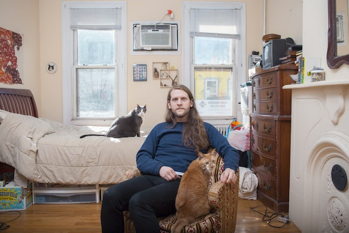 man loves cats - Room - STEDTRA dked Tea