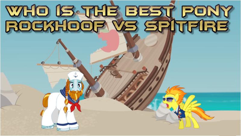 rockhoof spitfire best pony - 9254540288