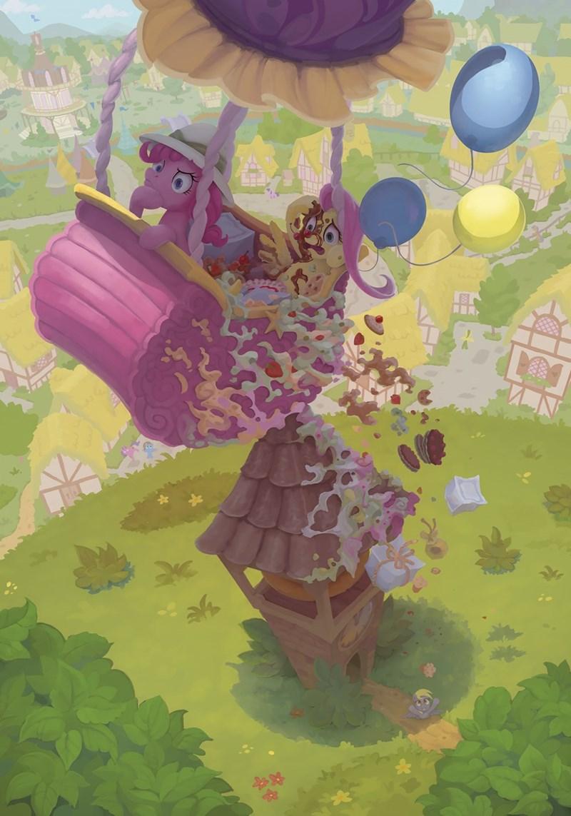 gor1ck derpy hooves pinkie pie fluttershy - 9254573568