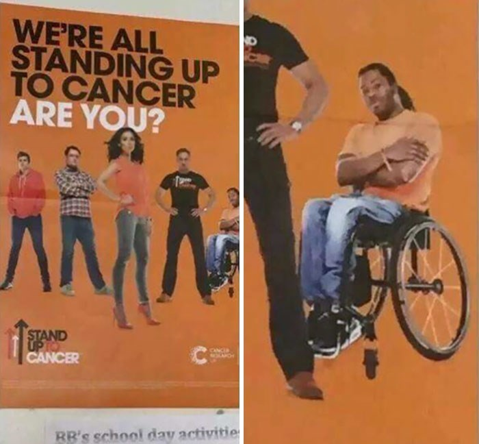 Album cover - WE'RE ALL STANDING UP TO CANCER ARE YOU? AMA STAND UP TO CANCER CANCIA RR's school day activitie