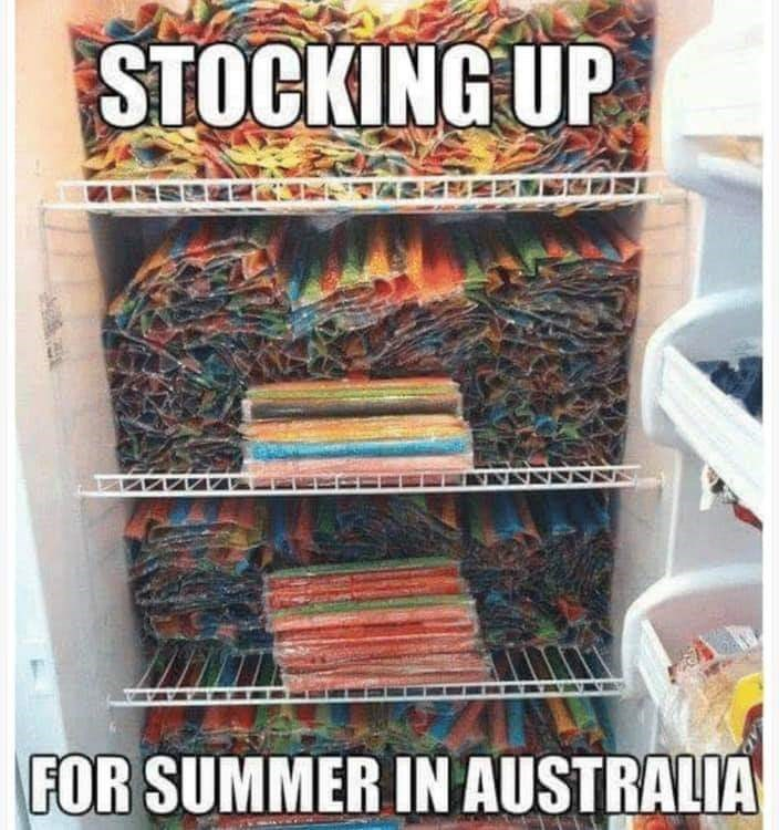 Comic book - STOCKING UP FOR SUMMER IN AUSTRALIA