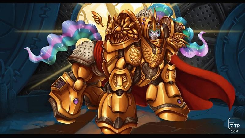 warhammer 40k eztp ponify princess celestia - 9255459840