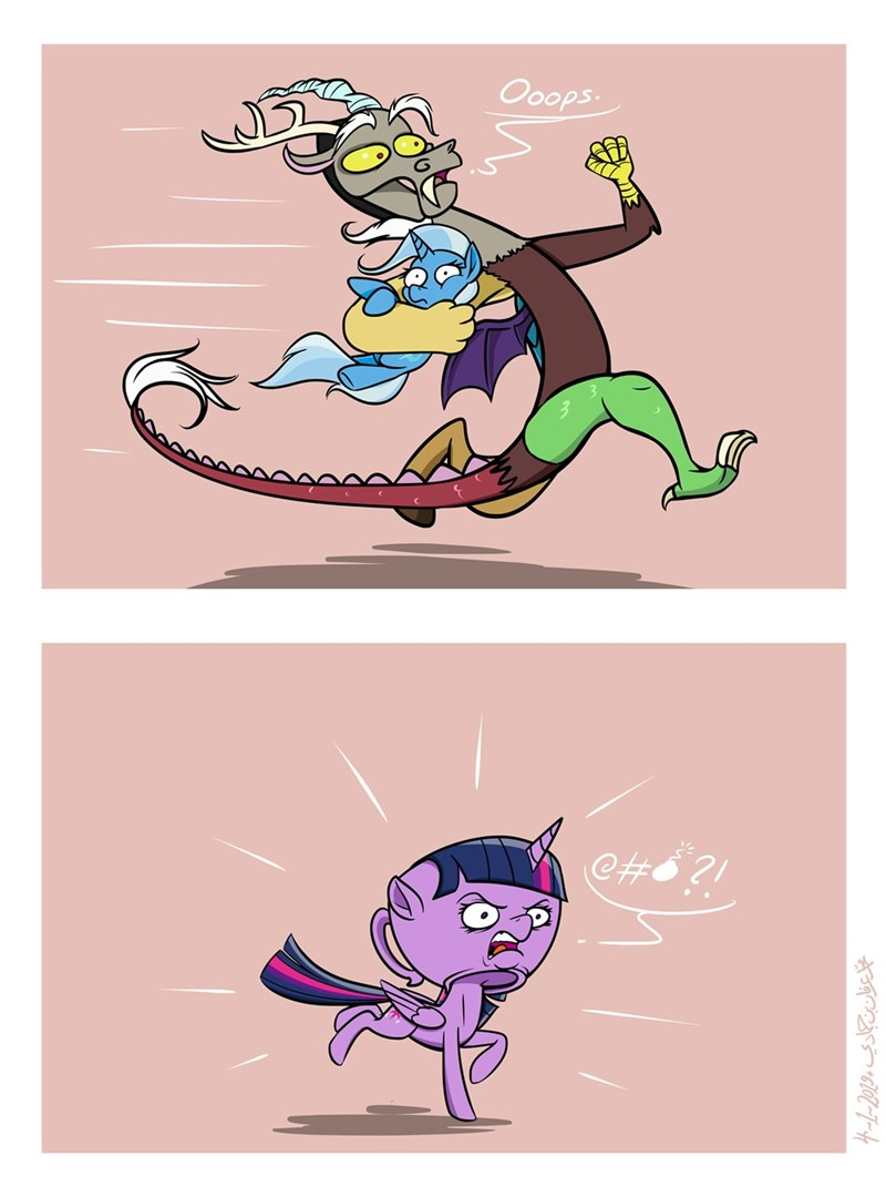 teacup the great and powerful trixie discord twilight sparkle Memes poecillia-gracilis19 comic cuphead - 9256096256