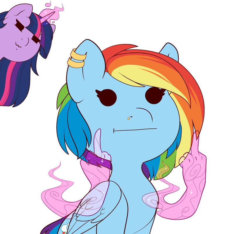 evehly twilight sparkle rainbow dash - 9256096512