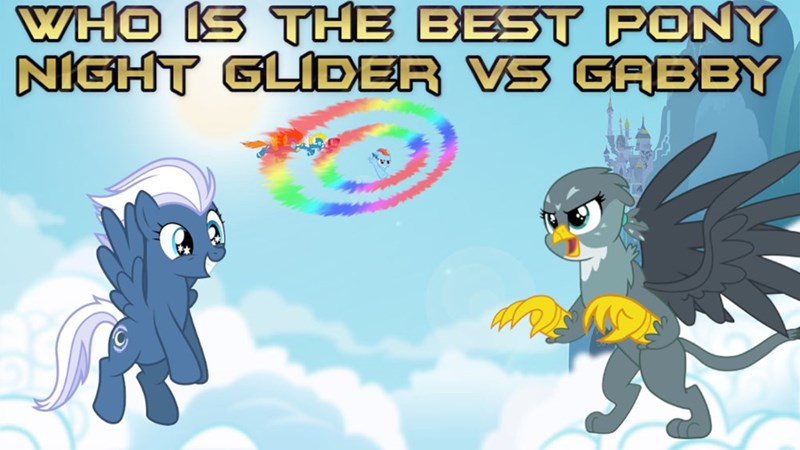 gabby night glider griffon BLAZE surprise soarin best pony rainbow dash - 9256195840