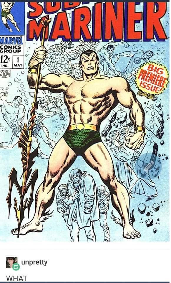 Comics - MARINER MARVEL COMICS GROUP BIG PREMIERE ISSUE 12 1 MAY IND MCG unpretty WHAT