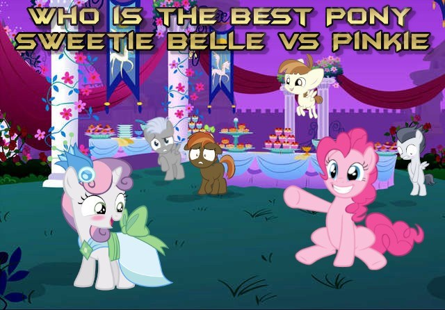 shipping chipcutter Sweetie Belle featherweight pinkie pie rumble best pony button mash - 9256639744
