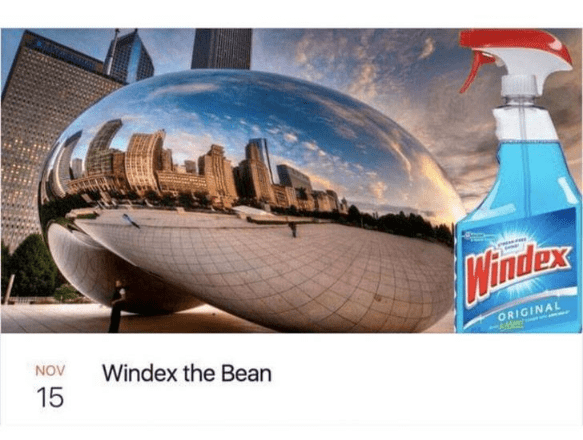 Water - IMindex ORIGINAL NOV Windex the Bean 15
