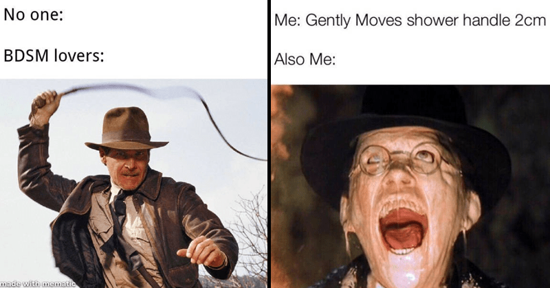 Funny relatable memes about Indiana Jones.