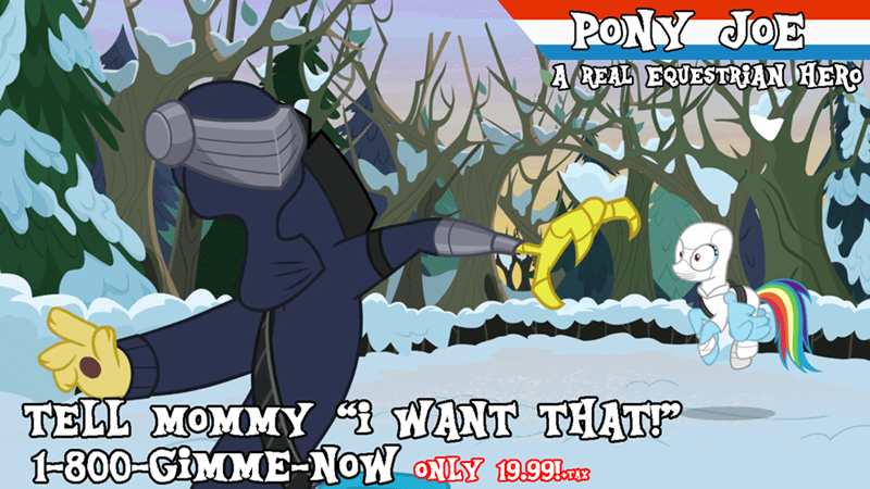 discord screencap GI Joe best gift ever rainbow dash - 9256834816