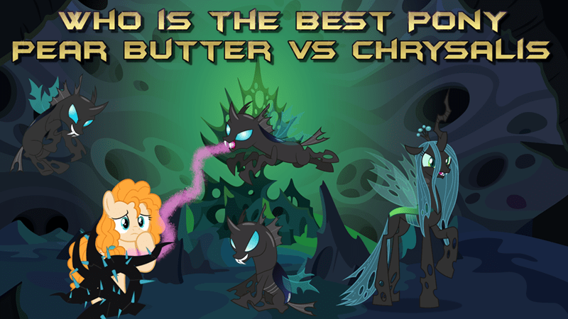 chrysalis pear butter best pony changelings - 9257151488