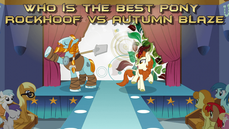 rockhoof autumn blaze best pony - 9257613312