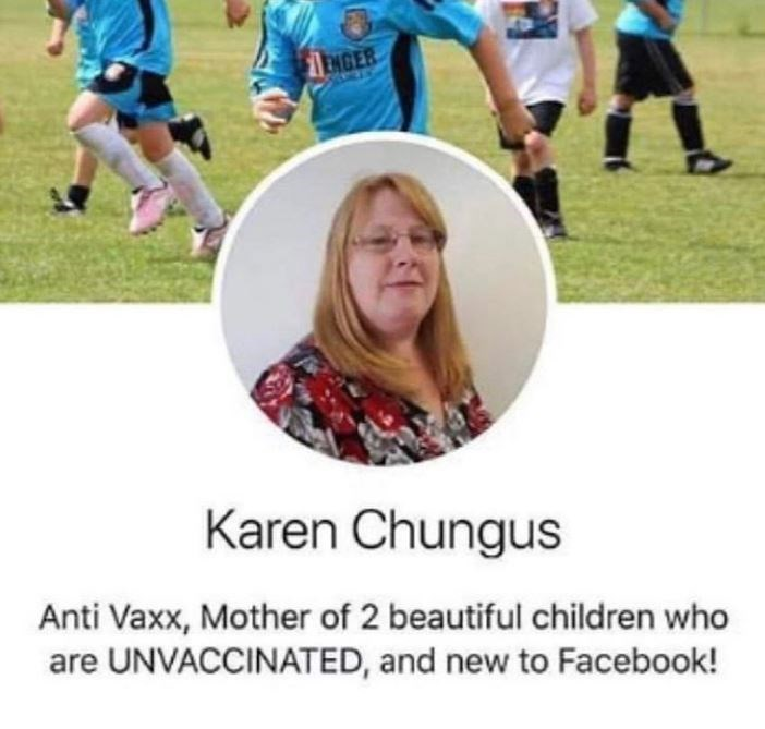 dank meme - Community - EMGER Karen Chungus Anti Vaxx, Mother of 2 beautiful children who are UNVACCINATED, and new to Facebook!