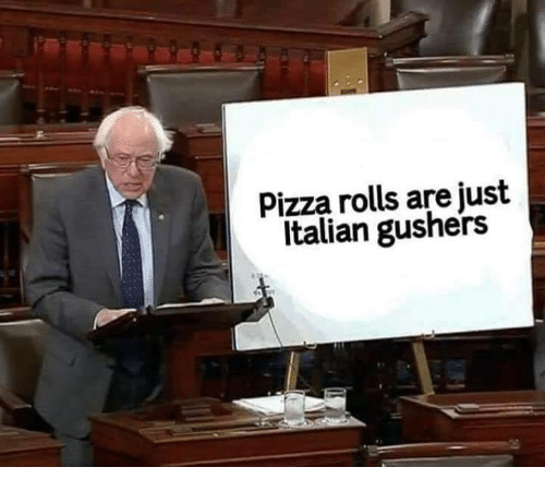 Official - Pizza rolls are just Italian gushers