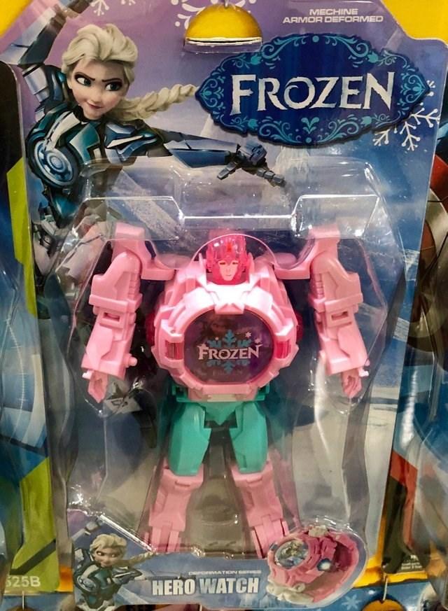 Toy - MECHINE ARMOR DEFORMED FROZEN FROZEN 525B HERO WATCH