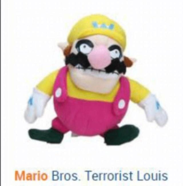 Toy - Mario Bros. Terrorist Louis