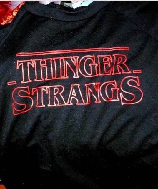Black - TillNGER STRANGS