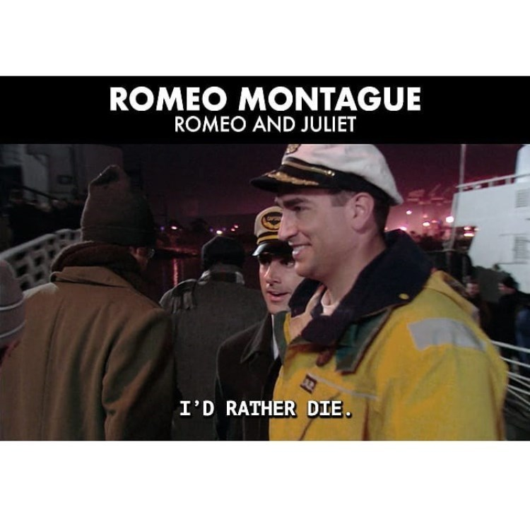 Photography - ROMEO MONTAGUE ROMEO AND JULIET I'D RATHER DIE.