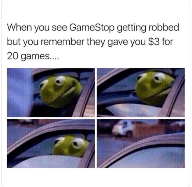 meme about picking sides when witnessing a crime with series of pics of Kermit rolling up his car window