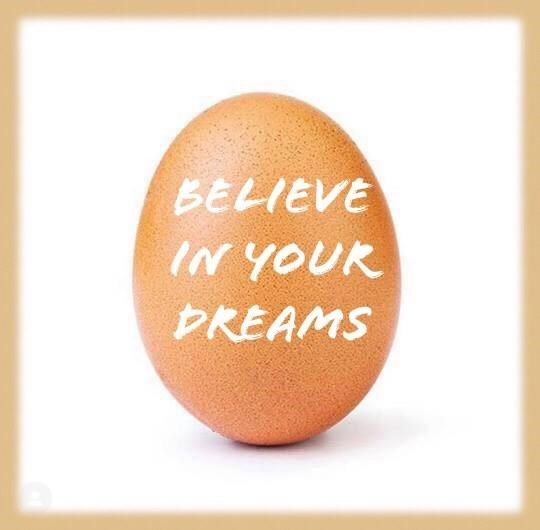 world record egg - Egg - BELIEVE IN YOUR DREAMS