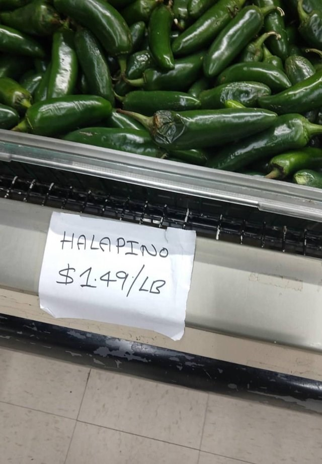 Vegetable - HALA PINO $1.49/LG
