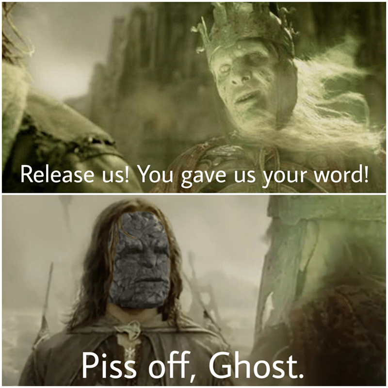 Adaptation - Release us! You gave us your word! Piss off, Ghost.