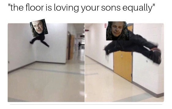 "Product - ""the floor is loving your sons equally"""