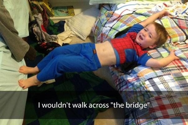 "Plaid - I wouldn't walk across ""the bridge"""