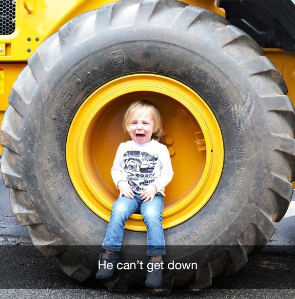 Tire - ERID BS He can't get down STON