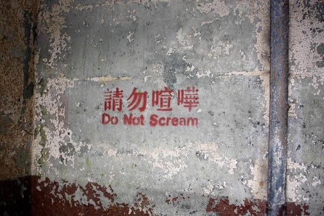 Wall - Do Not Scream