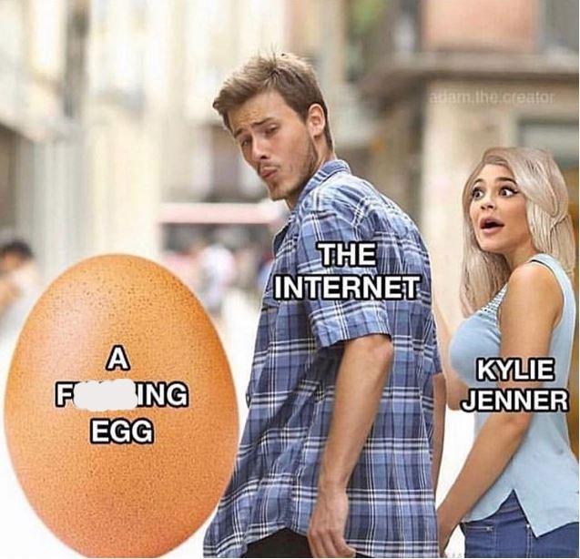 dank meme - Design - adam.the.creator THE INTERNET A F ING EGG KYLIE JENNER