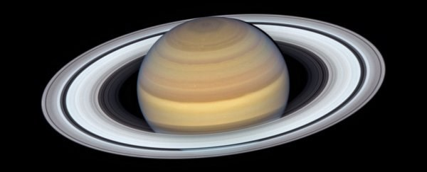 The Hubble Space Telescope just gave us incredible views of Saturn's rings and the movement of its moons around it