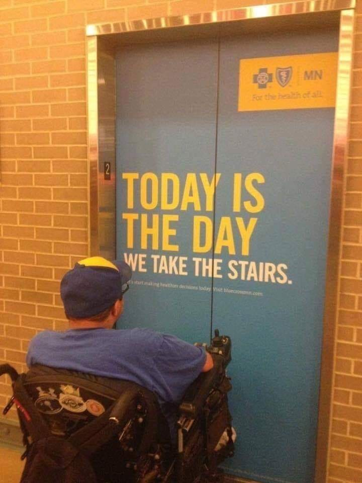 Product - MN For the health of all 2 TODAY IS THE DAY WE TAKE THE STAIRS thor dectons today ist
