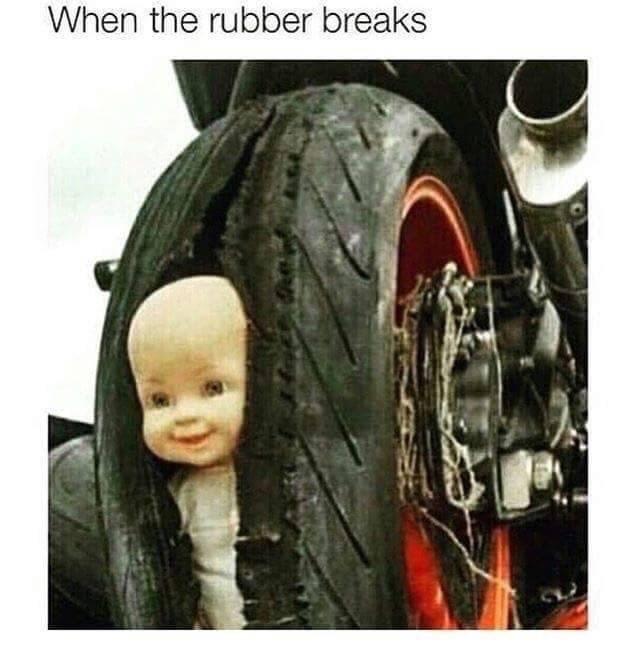 Tire - When the rubber breaks