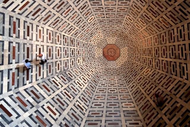 skewed perspective - Dome