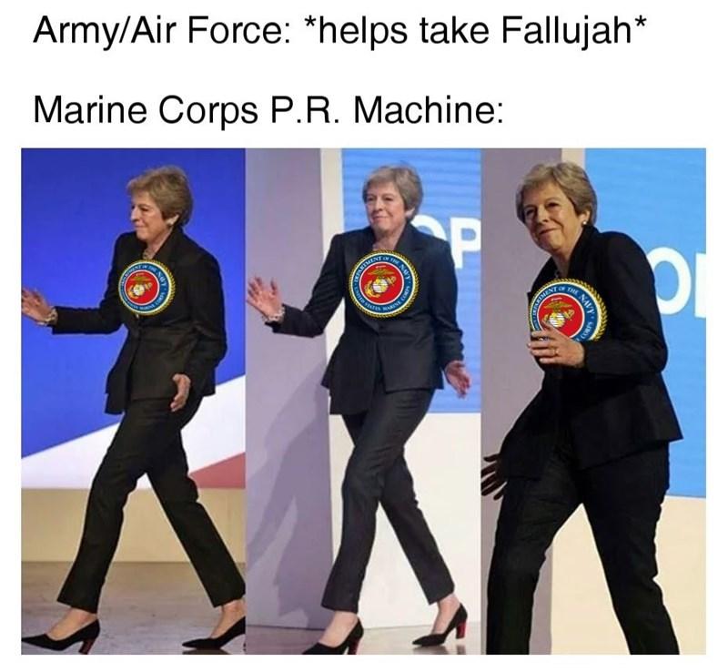 Choi kwang-do - Army/Air Force: *helps take Fallujah* Marine Corps P.R. Machine: CP HE HEANTMEN TOF THE N TMENT NAVY D SteTES MARNE COR ENTR