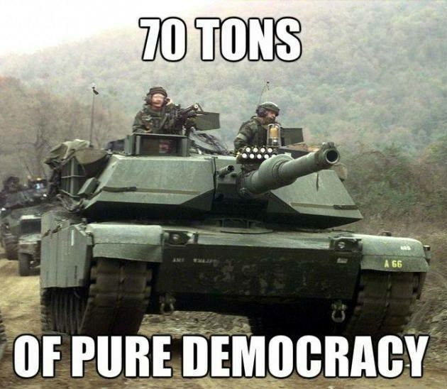 Combat vehicle - 70 TONS AME A 66 OF PURE DEMOCRACY