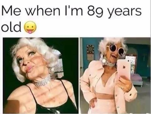 Head - Me when I'm 89 years old