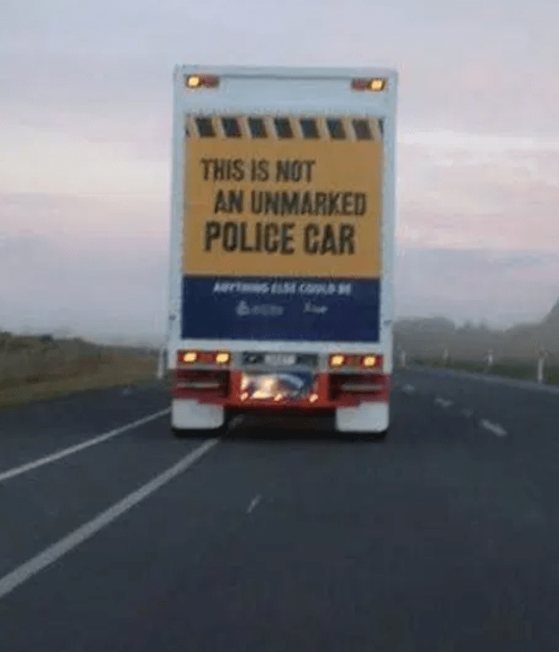 Transport - THIS IS NOT AN UNMARKED POLICE CAR